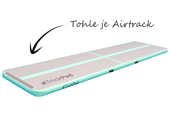 Tohle je airtrack TrickPad
